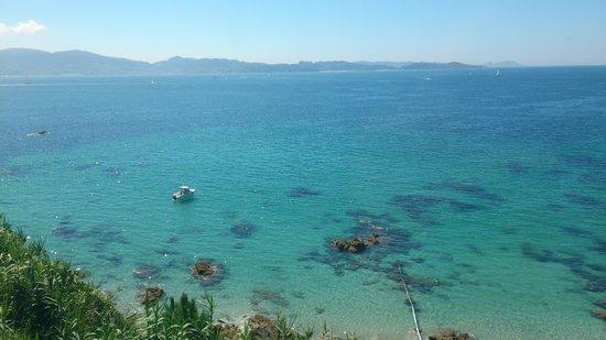 Playa de Areas: AGUAS CRISTALINAS
