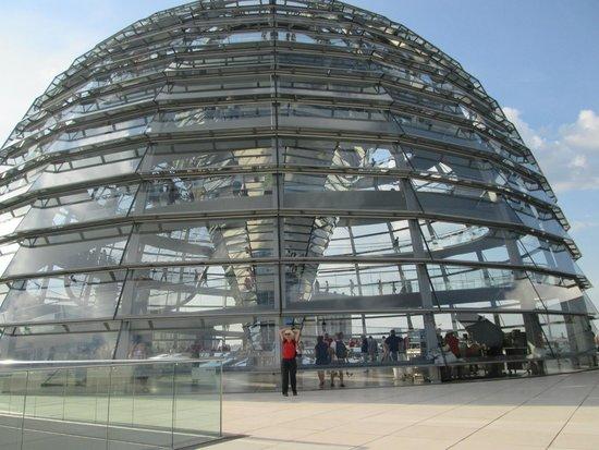 Plenarbereich Reichstagsgebäude: Glass cupola