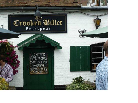 The Crooked Billet: Fresh food barter