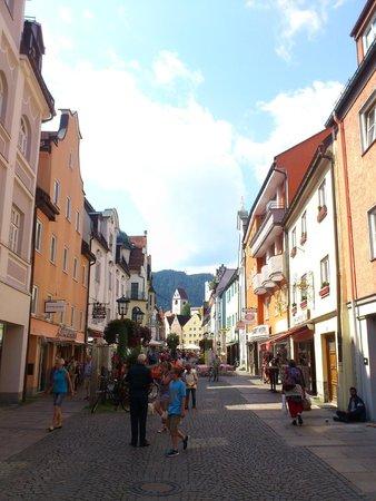Hotel Schlosskrone : Füssen, Bavaria, Germany