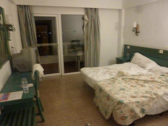 Hotasa Hotel Samoa: 2 lits séparés, dommage !