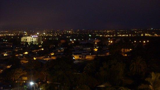 Parque Vacacional Eden: Blick von der Dachtterasse Hauptgebäude 9. Stock