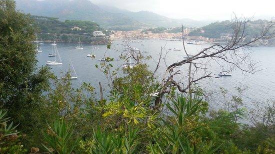 Grand Hotel Elba International: Vista dal terrazzo della camera