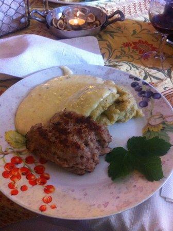 Malga Canali: Formai Frit, Luganega e polenta