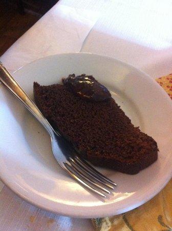 Malga Canali: Torta al cioccolato