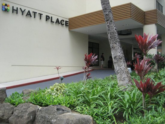 Hyatt Place Waikiki Beach: エントランス