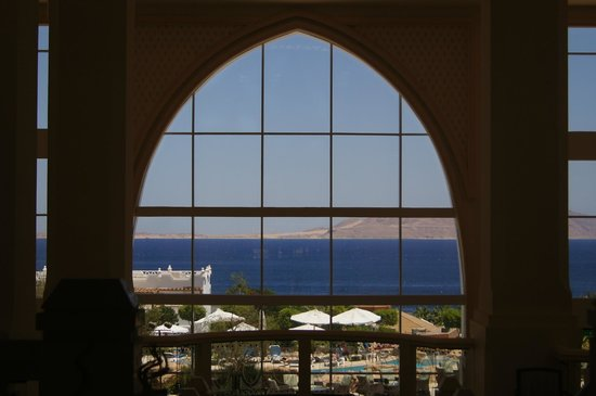 Cyrene Grand Hotel: first view you will see when you walk in the reception