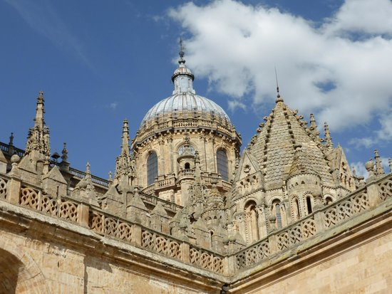 NH Salamanca Puerta de la Catedral: View from front door of hotel (and front rooms) over Cathedral