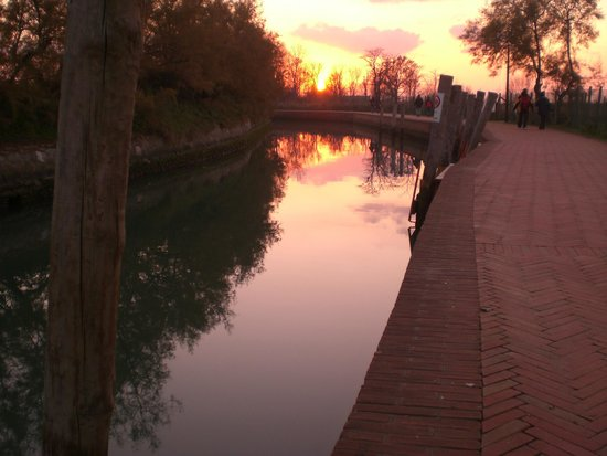 Isla de Torcello: evening on Torcello