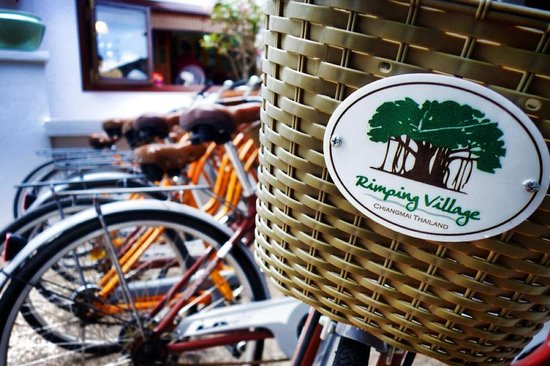 Rimping Village: Free Bicycle hire