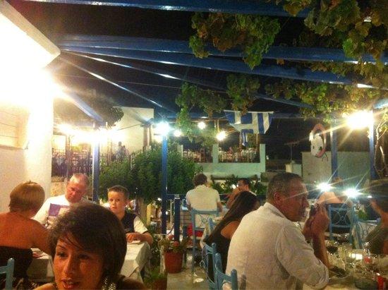 Nikos the Fisherman: Roof top terrace