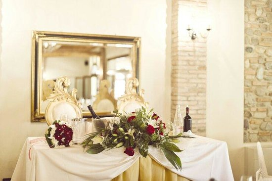Agriturismo Corte Priore: Tavolo sposi