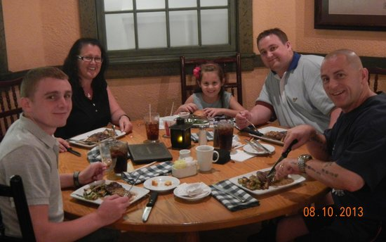 Disney's Port Orleans Resort - Riverside: Evening meal at hotel signiture restaraunt BOATWRIGHTS