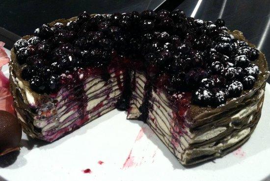 Yo'R So Sweet: Black and White crepe cake