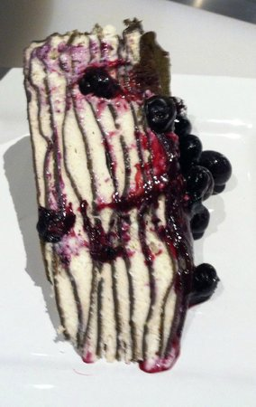 Yo'R So Sweet: slice of Black and White crepe cake