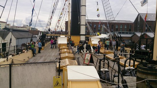 Brunel's SS Great Britain: Deck of the Great Britain