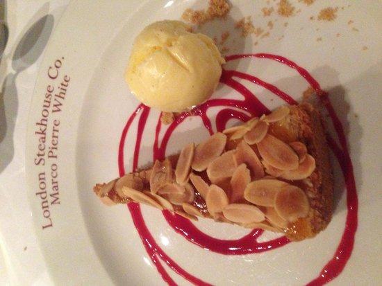 London Steakhouse Co - City: Bake well tart