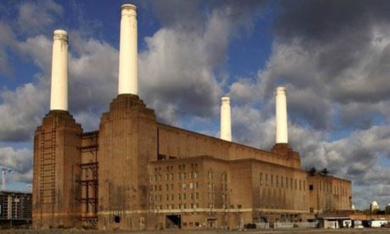 Battersea Pie Station : battersea power station