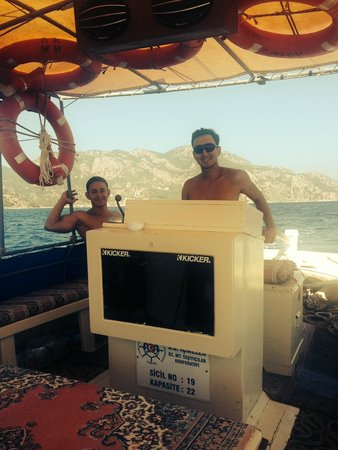 SENTIDO Sea Star: Boat trip with Serhat and Bayram
