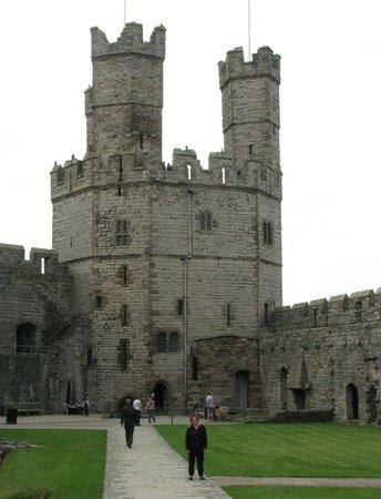 Caernarfon Castle : Internal View