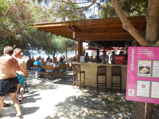 Barut Arum : Beach Bar......Oh to be back sat there!