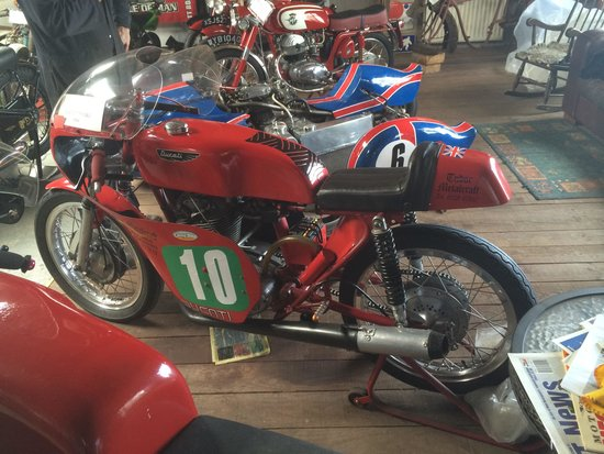 Scaleby Hill Vintage motor bike museum