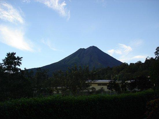 Arenal Volcano Inn: Foto da varanda do apartamento