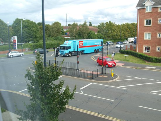 Travelodge Stratford Upon Avon: view from room 122