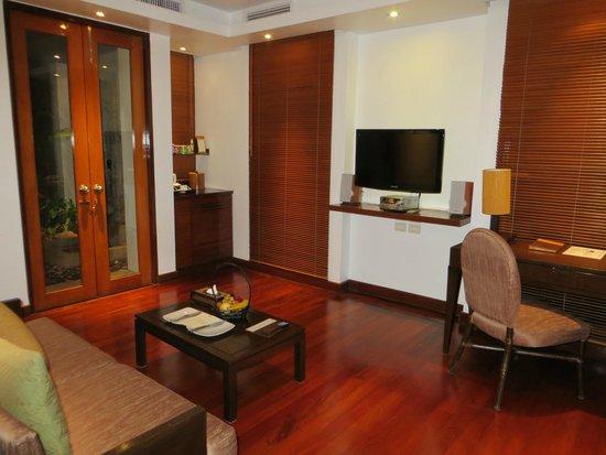 Ayara Hilltops Resort and Spa : Wohnzimmer