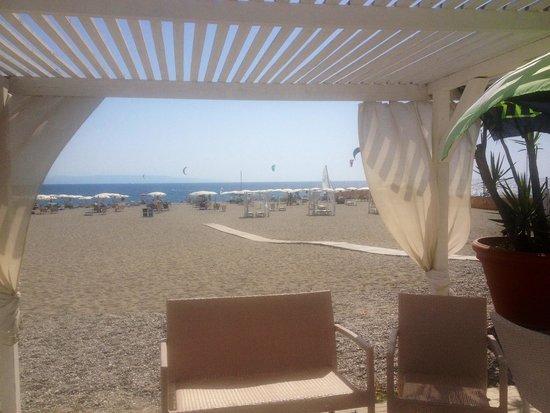 Le B Club: Spiaggia