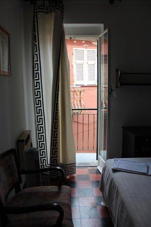 Hotel Gianni Franzi : Porch