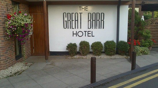 Great Barr Hotel: Front Of House