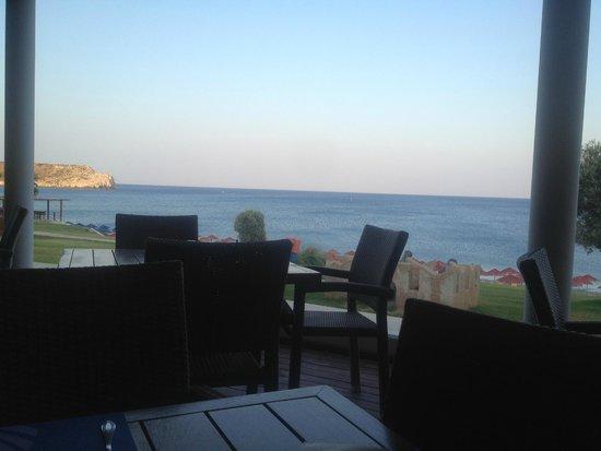 Kolymbia Beach Hotel : Vista dal ristorante
