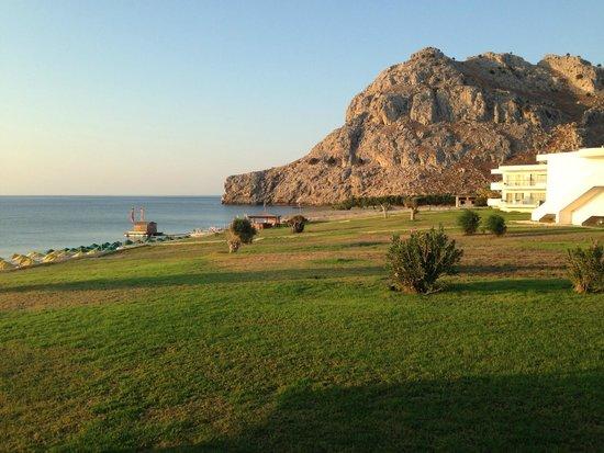 Kolymbia Beach Hotel : Vista camera