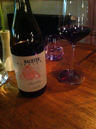 Rogner Bad Blumau: Excellent wine