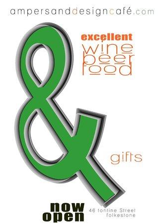 Ampersand Design Cafe: flyer