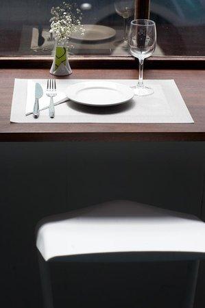 Ampersand Design Cafe: window seat