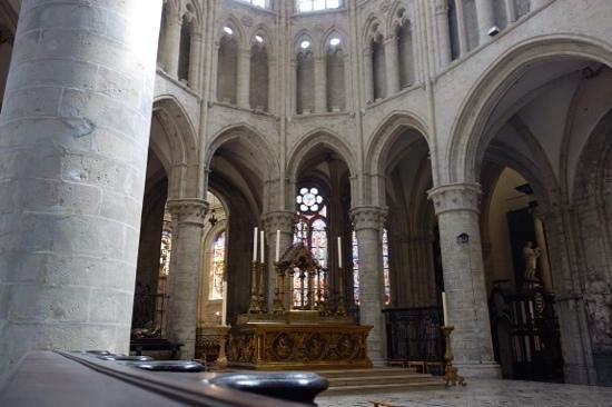Kathedrale St. Michael und St. Gudula: interior
