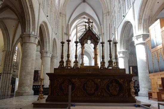 Kathedrale St. Michael und St. Gudula: alter