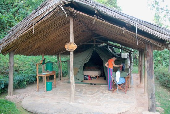 Bushara Island Camp: our tent
