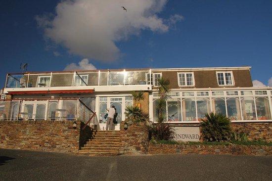 The Windward Hotel: Hotel Frontage