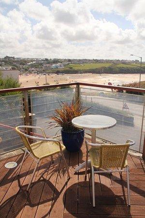 The Windward Hotel: Lounge Terrace View