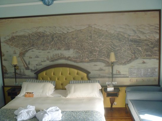 Grand Hotel Savoia : camera