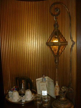 Grand Hotel Savoia : Lampada del minibar