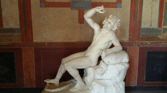 Pompejanum: Eingangshalle