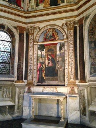 Chiesa di Santa Maria del Popolo: капелла Ровере