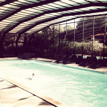 Hotel Saint Paul : La piscine !