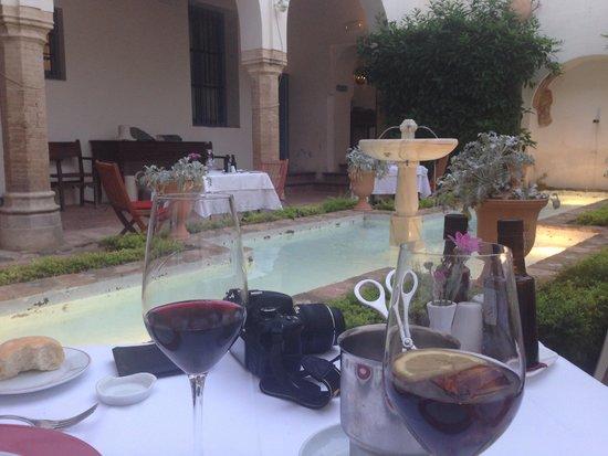 Las Casas de la Judería: Restaurant