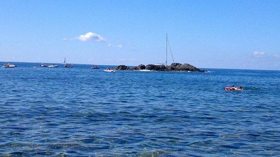 Pomonte, Italy: Scoglio del relitto