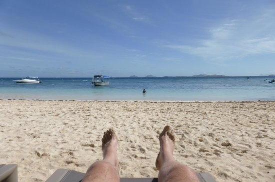 Castaway Island Fiji : Or drop in your tracks, it's perfect!